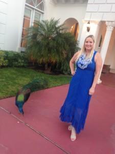 1E Rivercrest nicole and peacock