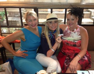 "Laura Cernock, Lori Lemon Geshay, Nicole Brende...a.k.a. the ""Blonde Mafia"""