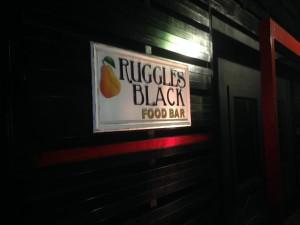 Ruggles Black food bar