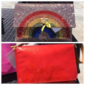 My winning Anya Hindmarch & Louis Vuitton bags!