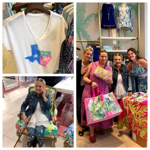 lilly pulitzer mom michelle me and artist charlotte munyard